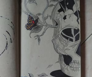 disegno, skull, and teschio image