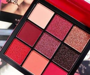 make up, red, and huda beauty image