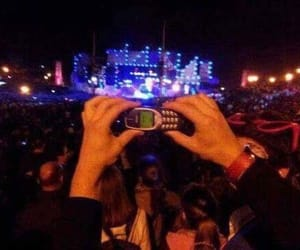 nokia, concert, and funny image