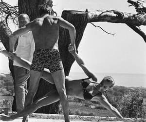 Alain Delon and Romy Schneider image