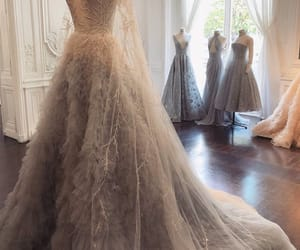 Couture, dress, and fairytale image