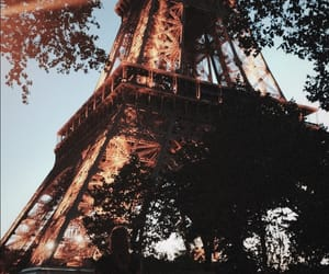 city, tower, and paris image