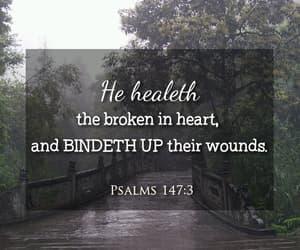god, rain, and bible verse image