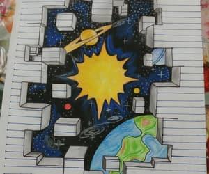 astronomia, universo, and stelle image