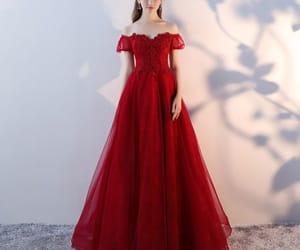 chiffon, dress, and formal image