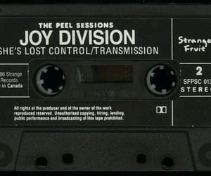 joy division, she's lost control, and cassette image