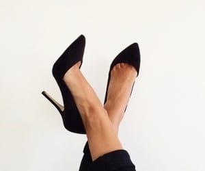 black, formal, and girl image