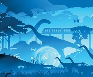 background, wallpaper, and dinossauros image