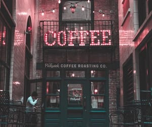 coffee, light, and pink image
