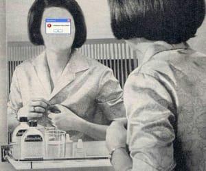 error and white image