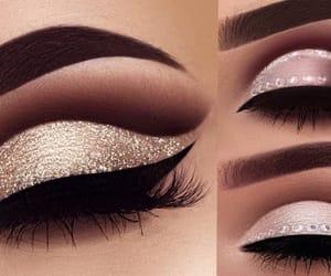 eyeshadow, glam, and glamorous image