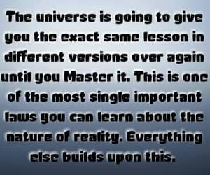 lessons, universe, and master it image