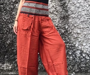 bohemian, gypsy, and hippie trousers image