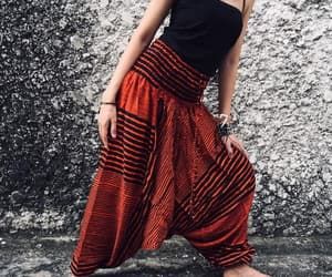 etsy, tribal, and baggy pants image