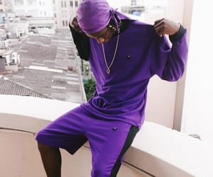model, purple, and roxo image