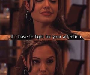 quotes, attention, and Angelina Jolie image