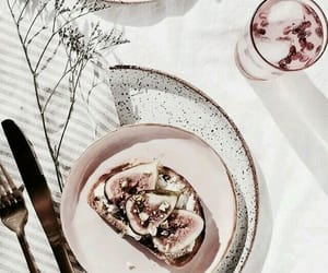 food, pink, and restaurant image