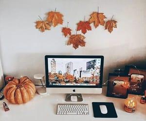 autumn, decor, and Halloween image