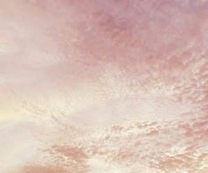 dawn, peach, and sky image