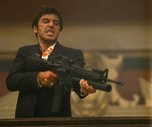 scarface, al pacino, and tony montana image