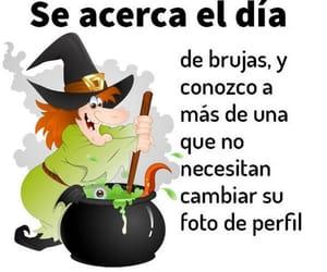bruja, frases español, and divertido image