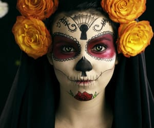 costume, disfraz, and day of the dead image