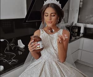 wedding, beauty, and food image
