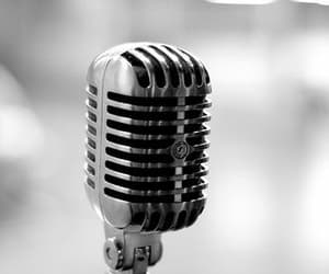 microphone, music, and sing image
