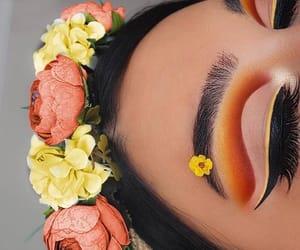 amazing, beautiful, and eye makeup image