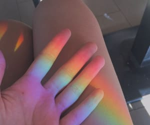rainbow, aesthetic, and tumblr image