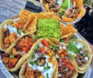 tacos, food, and nachos image