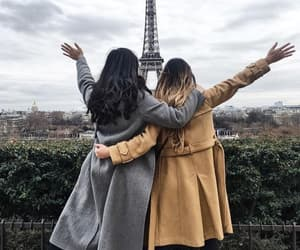 best friends, paris, and bff image