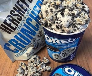 Cookies, ice cream, and oreo image