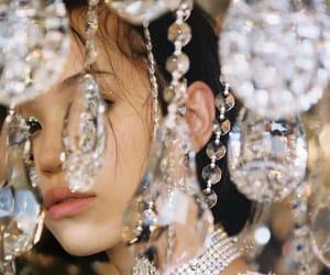 girl, aesthetic, and diamond image