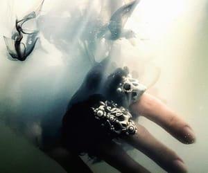 dark, Halloween, and rings image