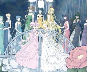 anime, sailor moon, and sailor mars image