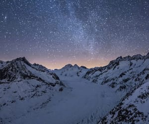 landscape, milky way, and nature image