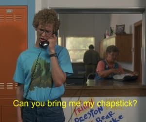 napoleon dynamite, funny, and chapstick image