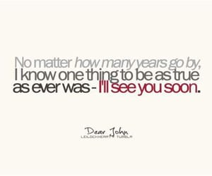 dear john, love quotes, and movie quotes image