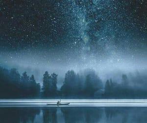 stars, night, and sky image