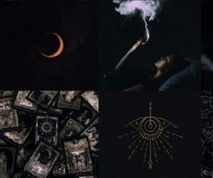 black, header, and dark image