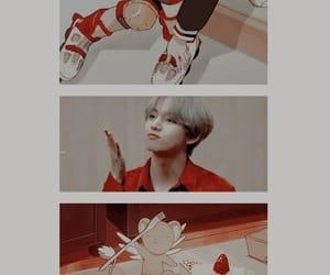 v, wallpaper, and taehyung image