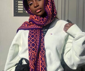 hijab, makeup, and pretty image