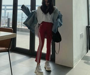 casual, korean outfit, and clothes image