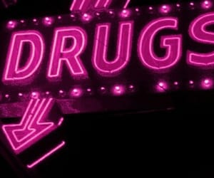 cyber, drugs, and neon lights image