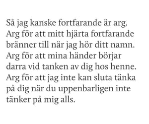 svenska, angest, and citat image