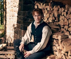 18th century, jamie fraser, and sam heughan image