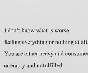 empty, feelings, and sad image