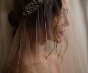 fashion, jewelry, and veil image
