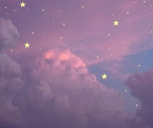 gif, stars, and clouds image